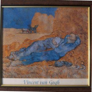 """""""van Gogh"""" aan de muur"""